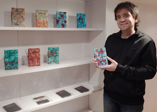 Ester Puig a Ferran Cerdans Serra de Llibres Artesans