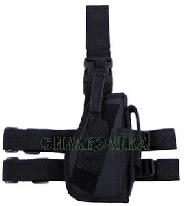 MFH Кобура ножна чорна:30725А