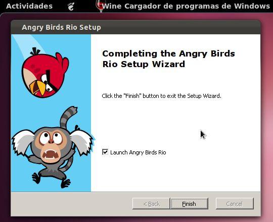 Instalar Angry Birds en Ubuntu