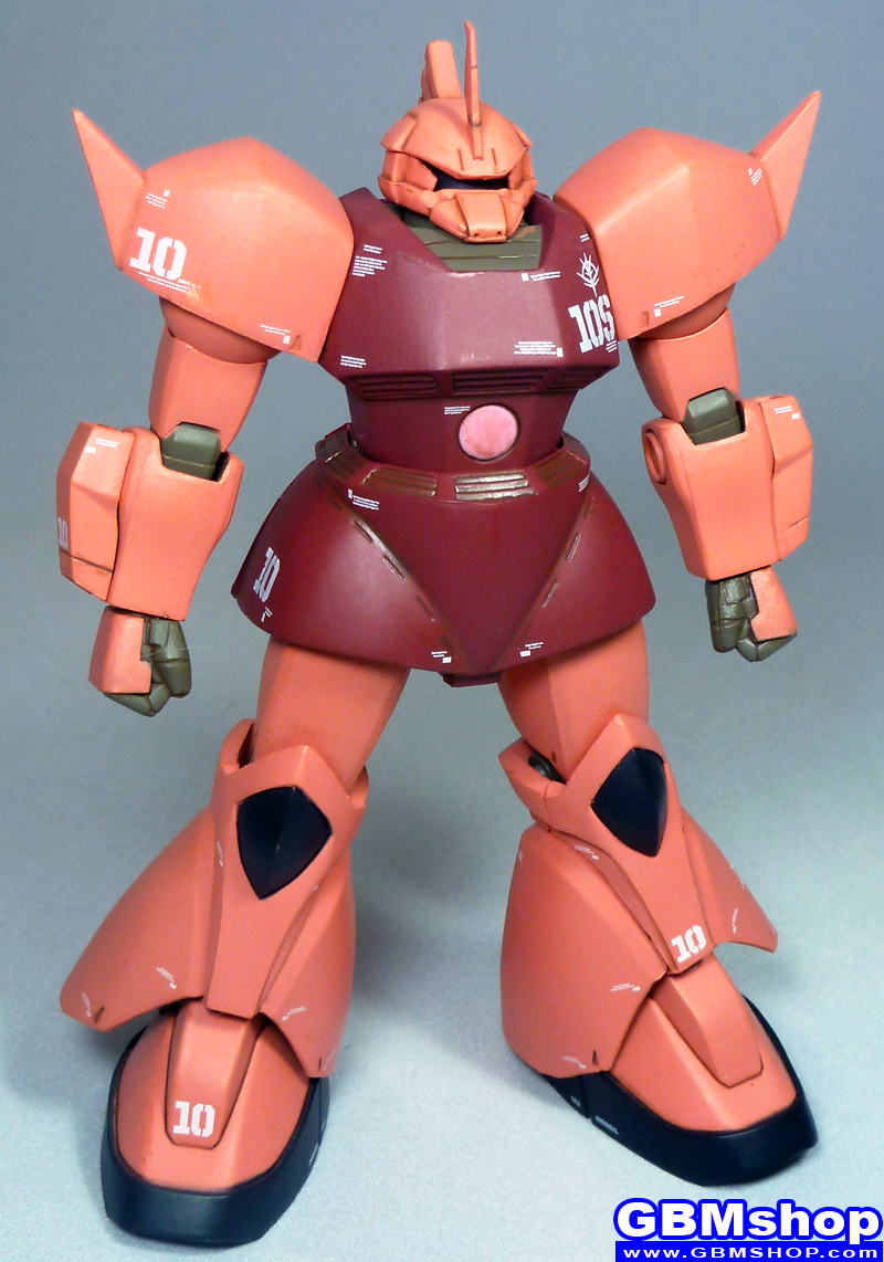 Zeonography #3010 MS-17 GALBALDYα/MS-14 GELGOOG Char Aznable custom