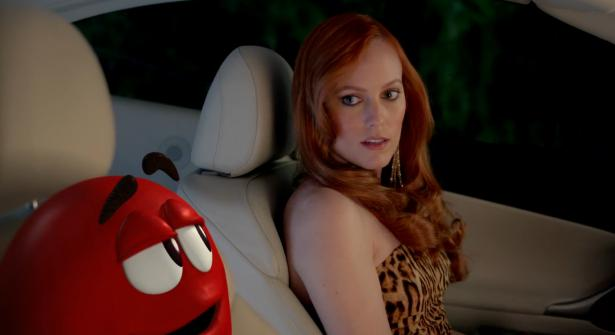"M&M's Ms. Brown Sets Up Red In ""Devour"" Spot"