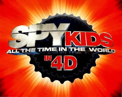 Spy Kids: All The Time In The World 4D Aroma-Scope Front