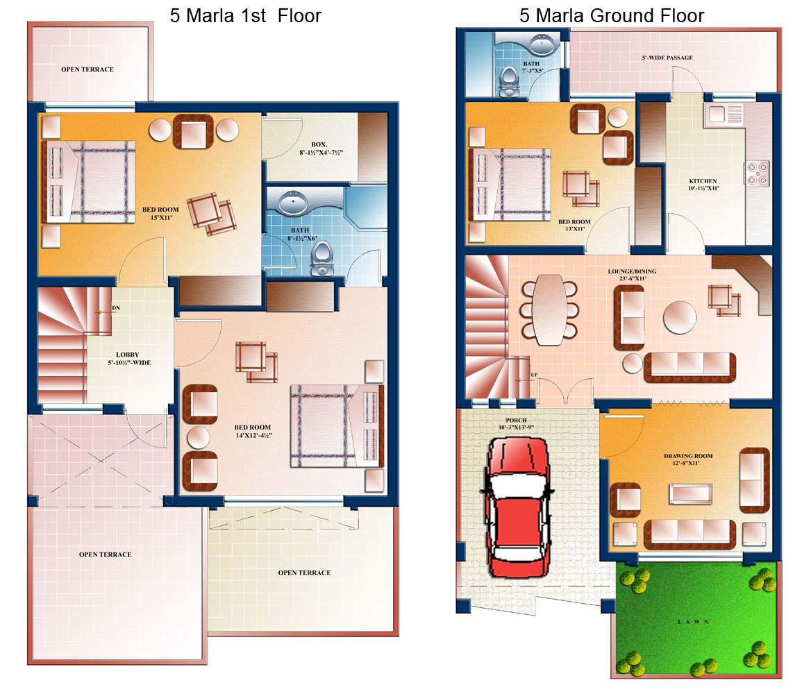 ... well 10 Marla House Design. on 5 marla house front design in pakistan