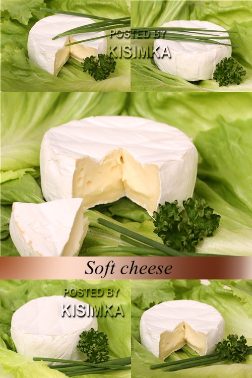 Stock Photo: Soft cheese
