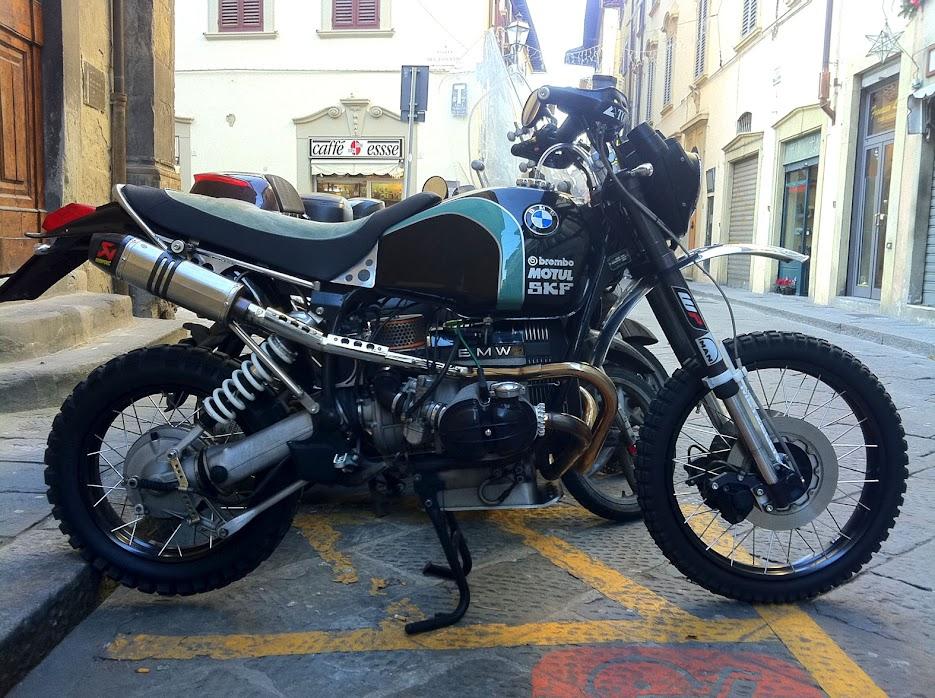 Airhead Dakar Rally Bike Adventure Rider
