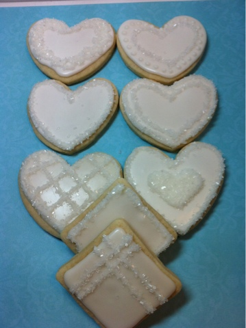 Sweet Shindigs: Wedding Shower Sugar Cookies