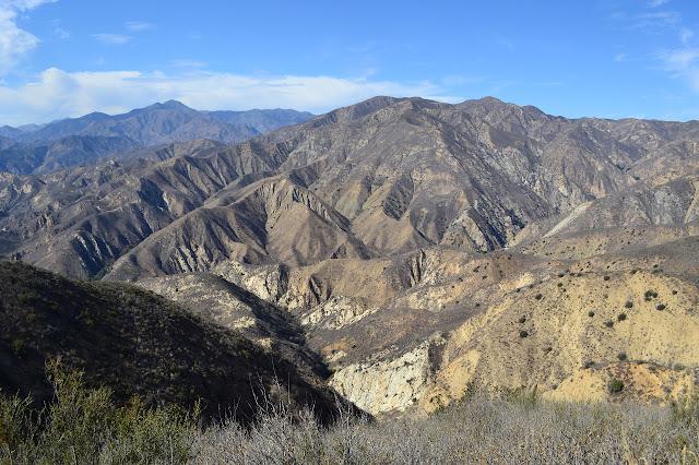 hills below Whitaker Peak