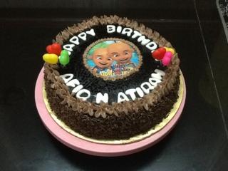 ZALIHAS CHOICE Birthday cake Chocolate cheese cake