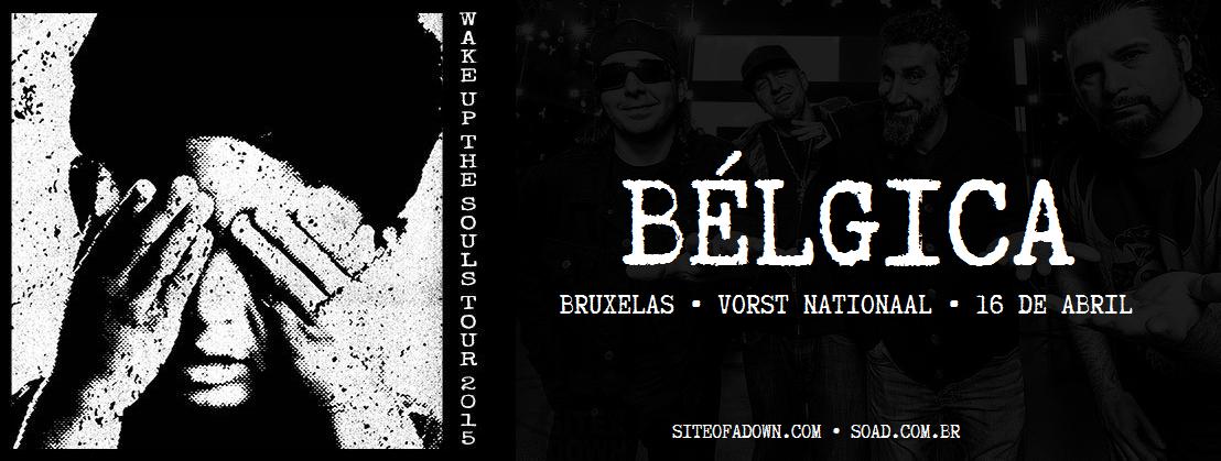 Show em Bruxelas, Bélgica