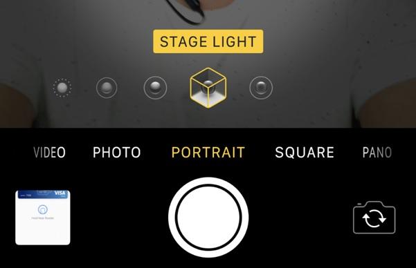 Cách chụp ảnh xóa phông trên iPhone X