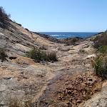 U-shaped rock gully (103189)