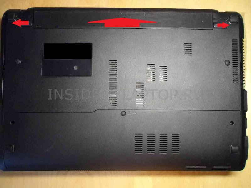 Замена модуля Wi-Fi в ноутбуке Asus X54HY-SX033D - Отключаем блок питания