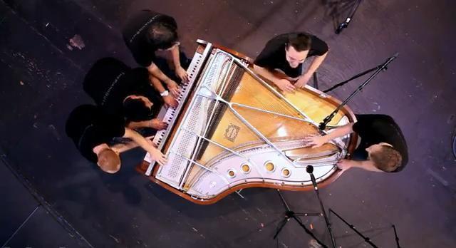 What Makes You Beautiful (5 Piano Guys, 1 piano) - ThePianoGuys