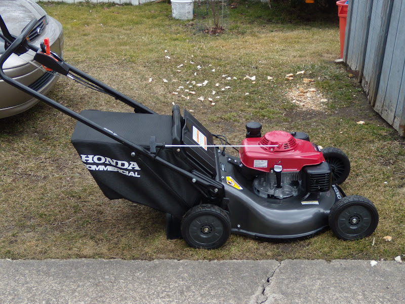 My new HRC216HXA - Lawn Mower Forums : Lawnmower Reviews, Repair, Pricing and Discussion Forum