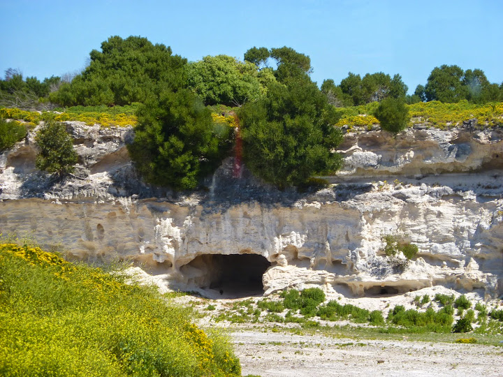 Lime quarry, Robben Island, Capetown, South Africa