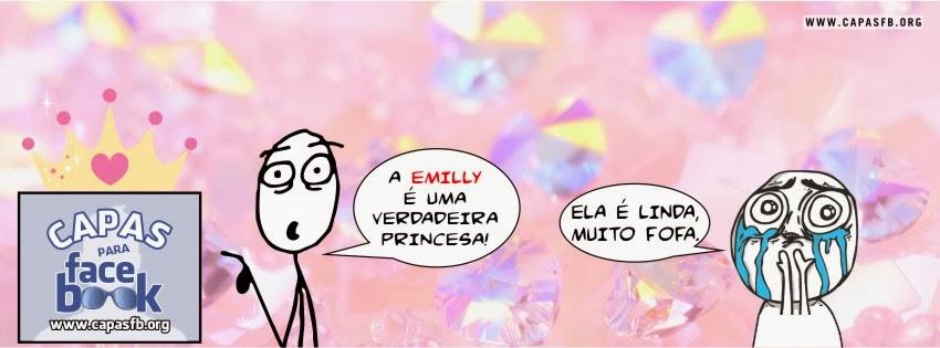 Capas para Facebook Emilly