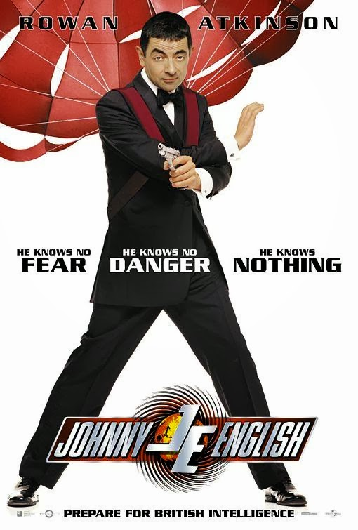 Poster Of Johnny English (2003) Full Movie Hindi Dubbed Free Download Watch Online At Alldownloads4u.Com