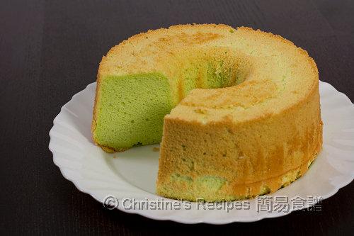 Pandan Chiffon Cake03
