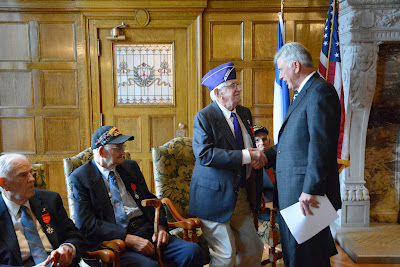 French Legion of Honor Induction Ceremony