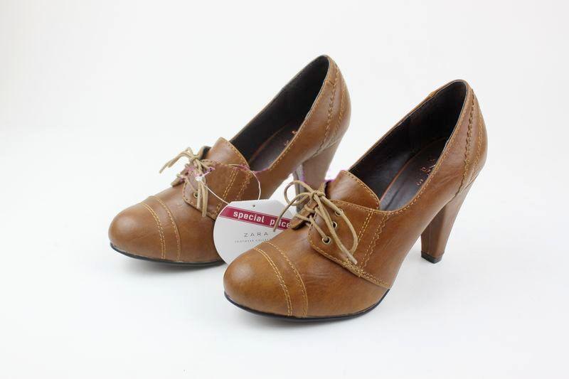 f74a192a72c537 ArrogantMinnie Preorder - Footwear   Bags  Zara TRF Heel Blucher