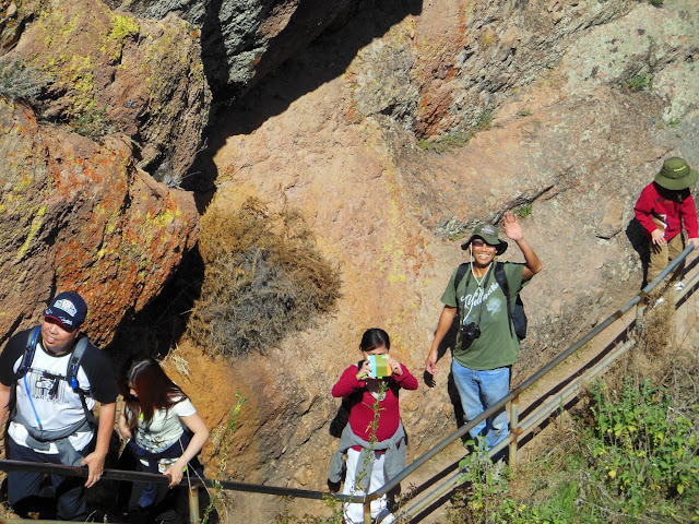 Hiking in Pinnacles Natl Park II