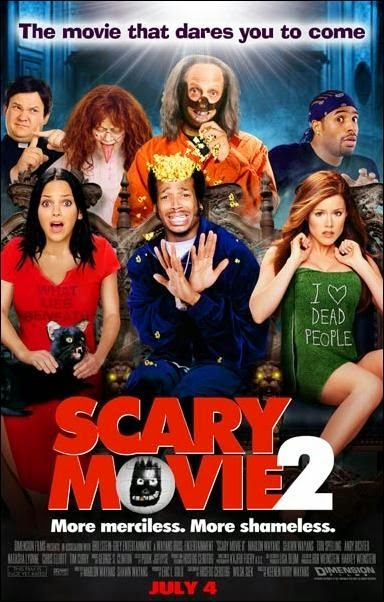 Poster Of Scary Movie 2 (2001) Full Movie Hindi Dubbed Free Download Watch Online At alldownloads4u.com