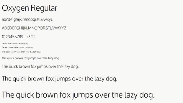 oxygen_font