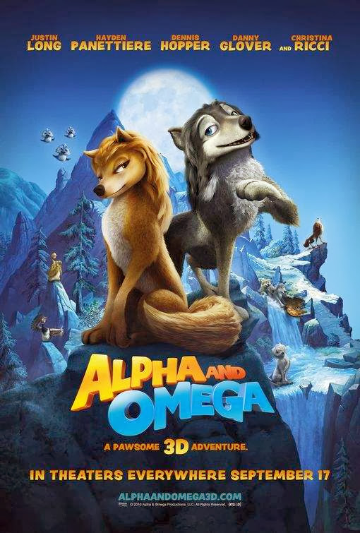 Poster Of Alpha and Omega (2010) Full Movie Hindi Dubbed Free Download Watch Online At Alldownloads4u.Com