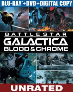 Battlestar Galactica Blood and Chrome (2012) BluRay 720p 700MB