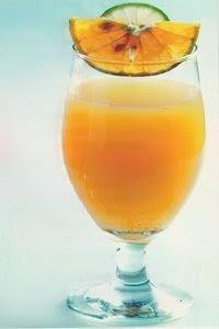 Jus Buah Jeruk Campur Lemon