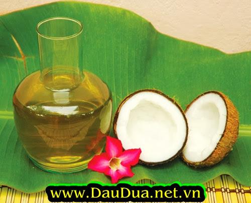 Dầu dừa dùng làm công thức chính trong các thực phẩm chức năng