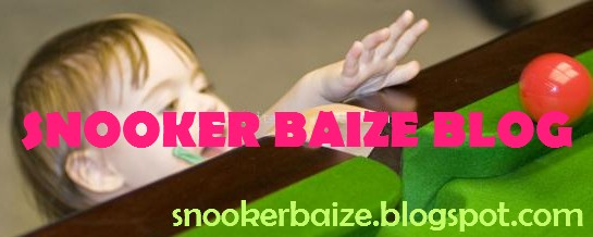 SNOOKER BAIZE BLOG