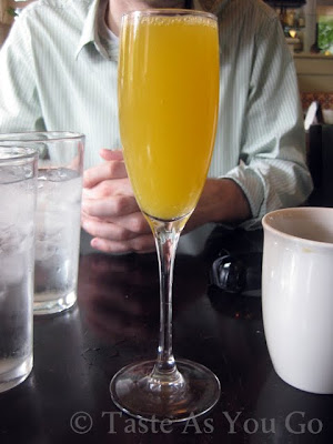Stephi's Mimosa at Stephi's on Tremont in Boston, MA - Photo by Taste As You Go