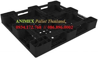 Pallet nhựa mặt lưới Thái Lan nhập khẩu