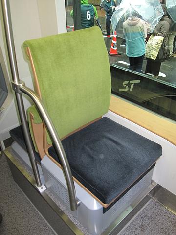 札幌市電 A1201号 シート その2