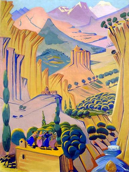 Martiros Saryan - Armenia, 1923