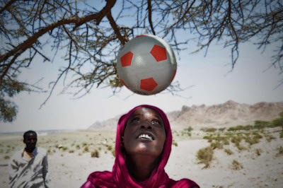 Muslim militants thwart girl's love of soccer