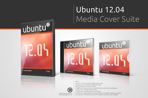 Ubuntu 12.04 Media Cover Suite