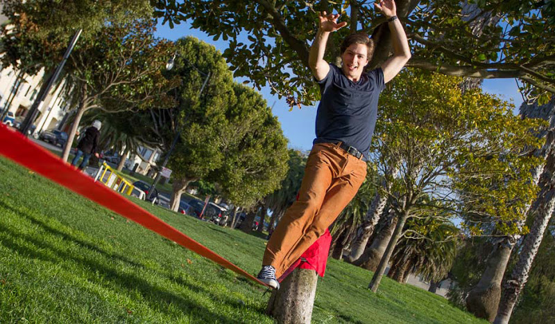 Tight Rope Walking in Camel Lightweight Cordarounds