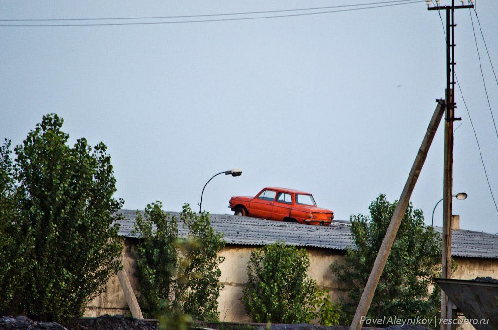 Запорожец на крыше
