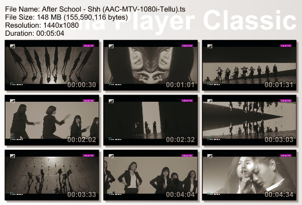 [PV] After School   Shh [MTV HD 1080i]