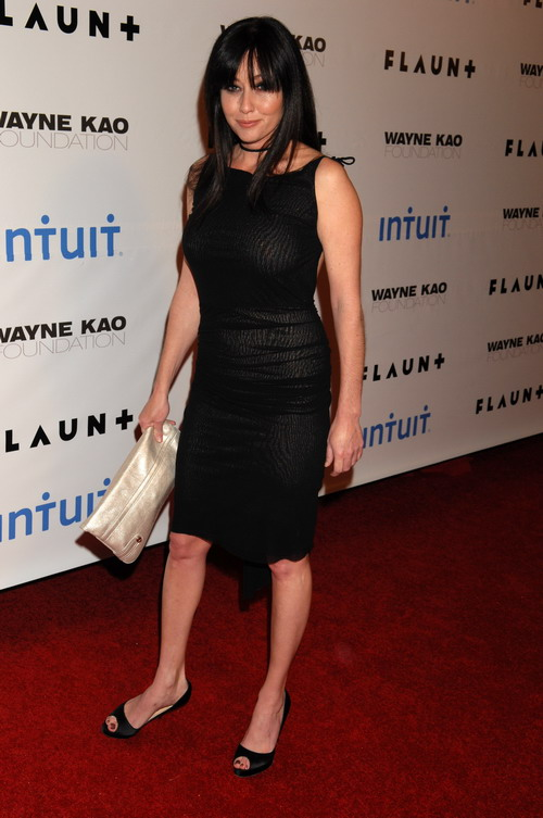 Shannen Doherty See Through Dress(dress for girls-4photos)4