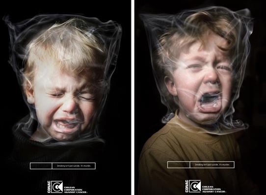 Rūkymas žudo vaikus