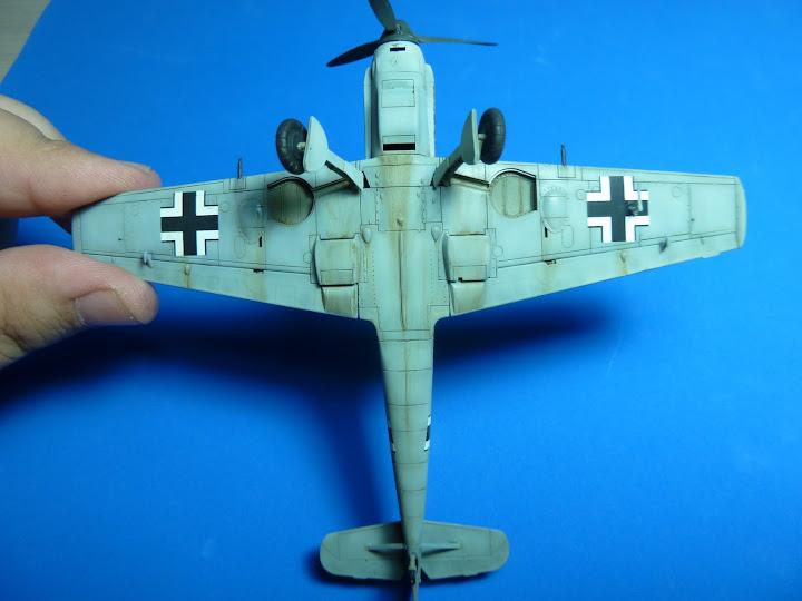 "Messerschmmit Bf 109 E-3 - Major Hans ""Assi"" Hahn P1040046"