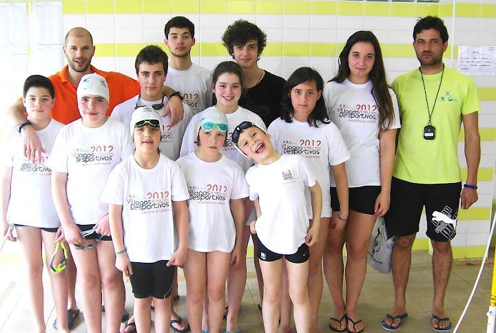 Nadadores de Lamego sobem ao pódio três vezes no Circuito Municipal