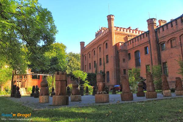 Pałac Rzucewo na Kaszubach - szach matki