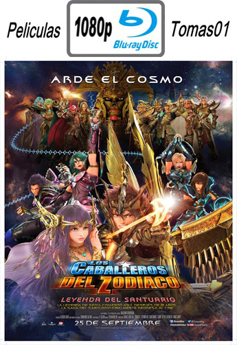 Los Caballeros del Zodiaco: La leyenda del santuario (2014) BRRip 1080p