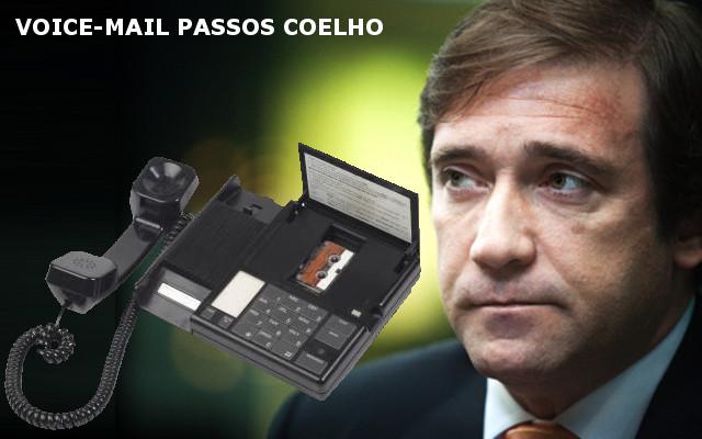 Voice-mail de Passos Coelho - Mixórdia de Temáticas 29-10-12 (Rádio Comercial)