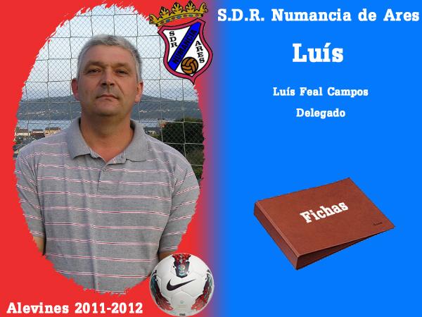 ADR Numancia de Ares. Alevíns 2011-2012. LUIS.