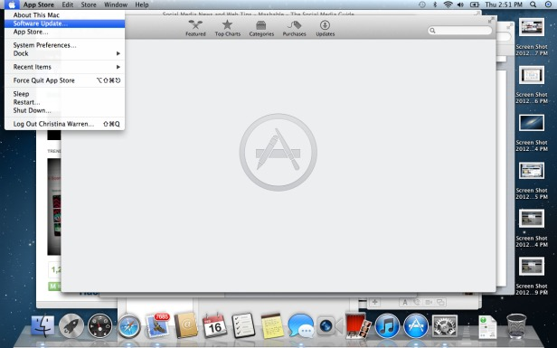 14 software update Top 10 New Features in Apple OS X Mountain Lion
